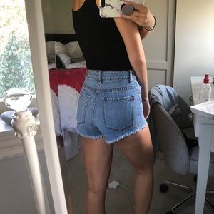 Urban Outfitter high waisted jean shorts size 24